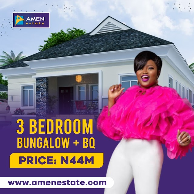 Exotic Finished 3 Bedroom with BQ at Amen Estate Phase 2