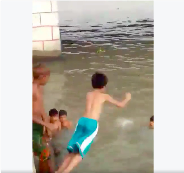 Boy pressured by friends to jump into Pasig river dies of drowning