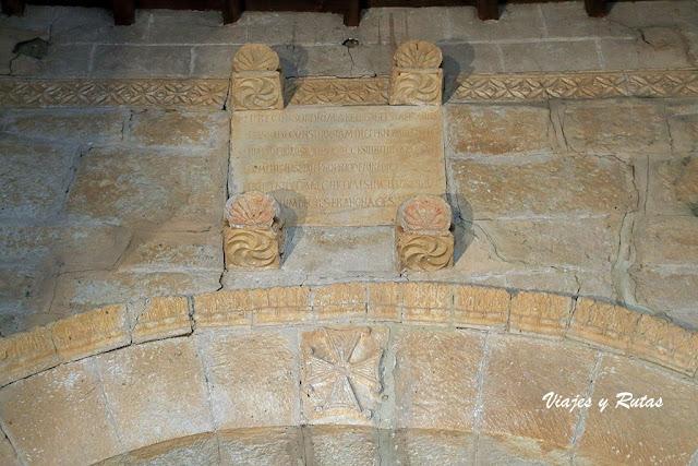 Inscripción de la fundación de San Juan de Baños