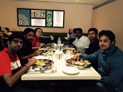 Enjoying Meals with Teams in Andhra Pradesh