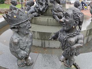 Heinrich IV. und Gemahlin Darstellung Harzburger Jungbrunnen