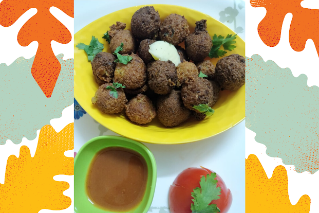 Multigrain Vegetable balls with Tasty Cereal Mix