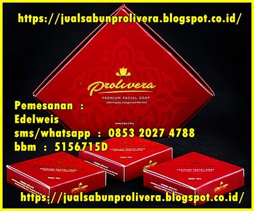 Kulit Wajah Putih Cerah Merata Dengan Sabun Premium Prolivera