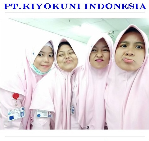 Loker kawasan EJIP 2018 PT Kiyokuni Indonesia Bagian Operator produksi