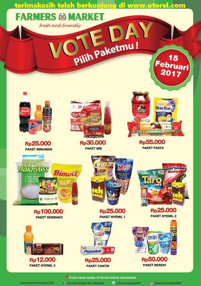 Katalog Promo Farmers Terbaru Vote Days PILKADA Periode 15 Februari 2017