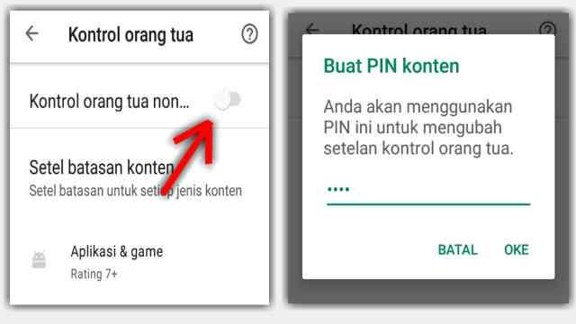 Cara blokir aplikasi di play store