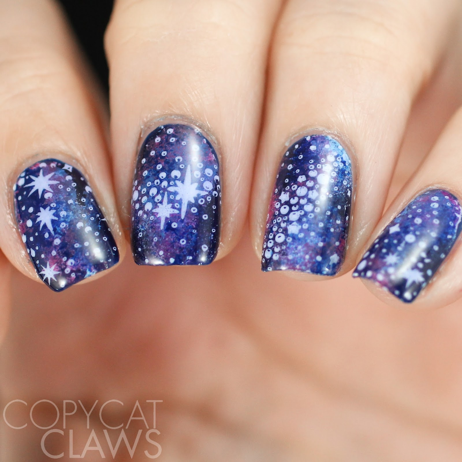 Copycat Claws: Bundle Monster Galaxy Stamping