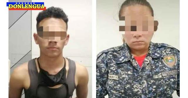 Dos funcionarios ebrios de la PNB atracaron a un usuario del Metro Miranda