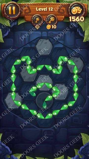 Gems & Magic [Indigo] Level 12 Solution, Walkthrough, Cheats