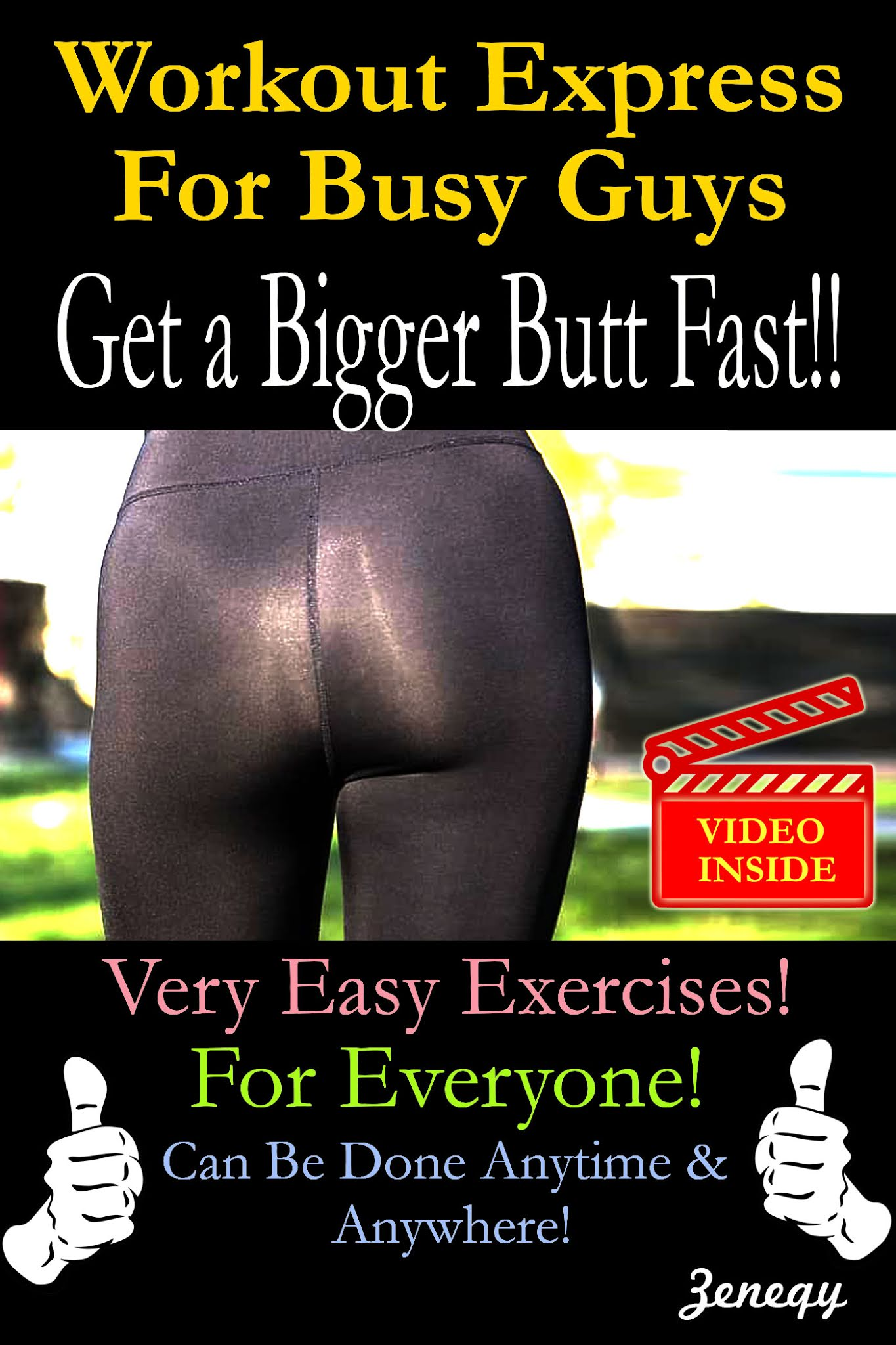 Workout Express For Busy Guys: Get A Bigger Butt Fast!!