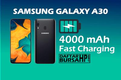 Spesifikasi Baterai Samsung Galaxy A30