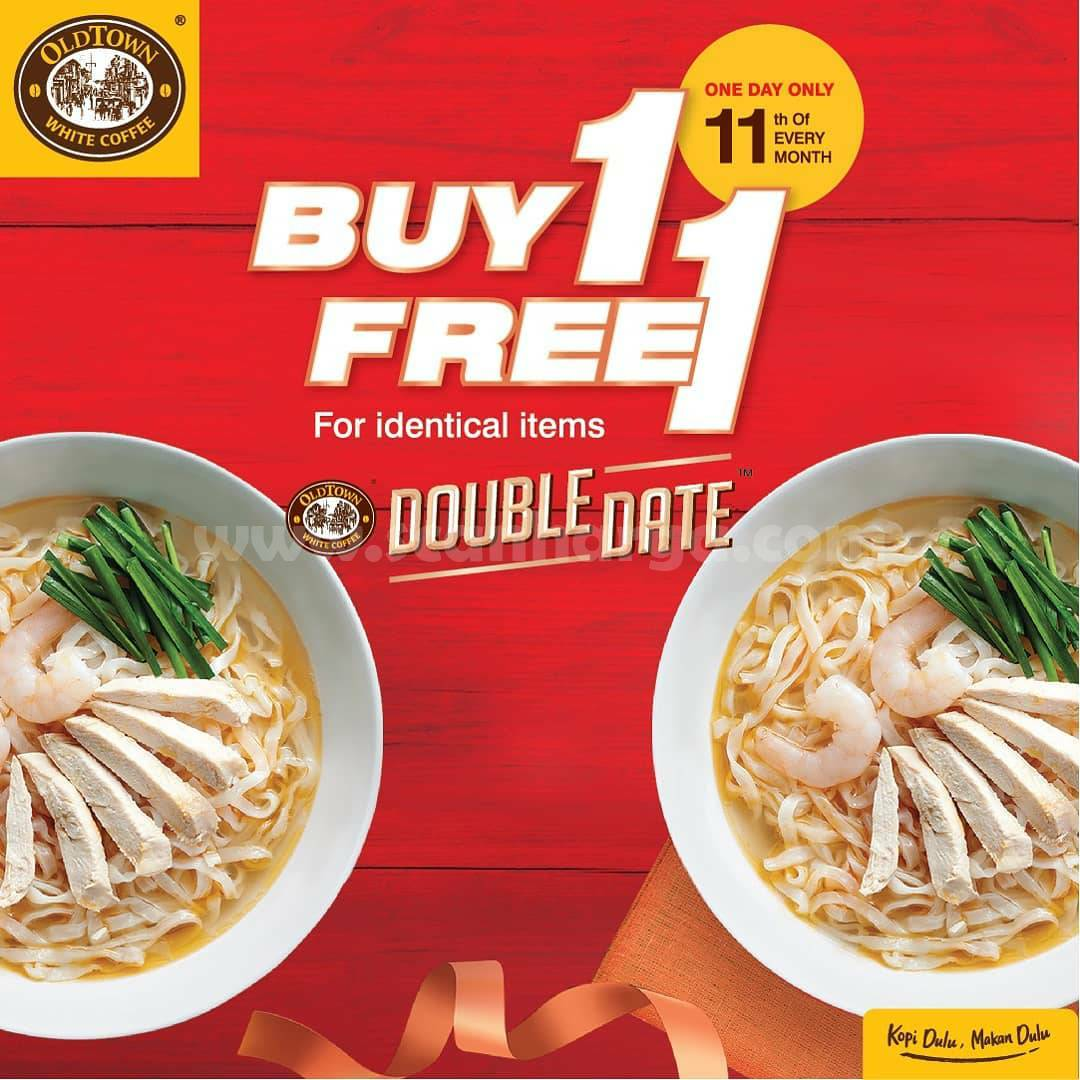 Promo Old Town Double Date Buy 1 Get 1 Free For Identical Items