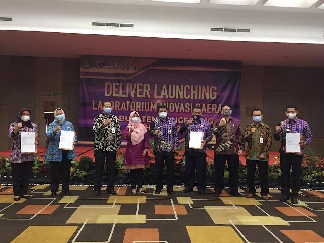 bank bjb Sukseskan Launching Laboratorium Inovasi Daerah Kabupaten Tangerang