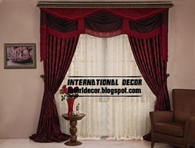 Top 10 curtain designs and unique draperies colors, ideas 2017