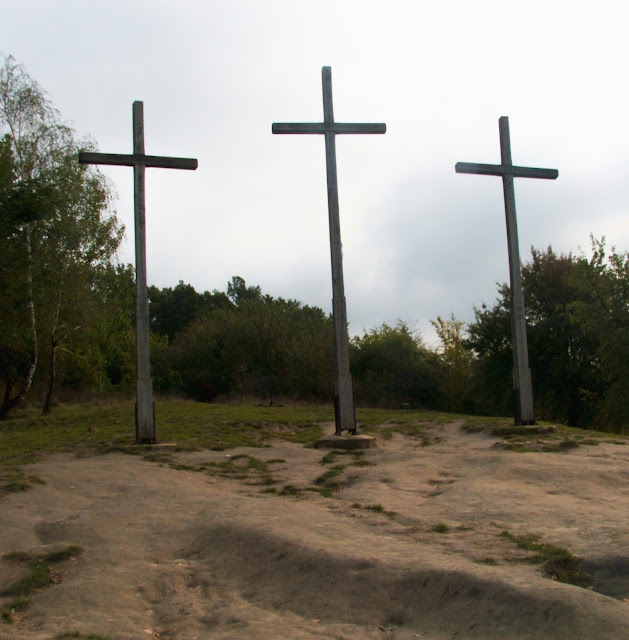 krzyże, Kazimierz Dolny, Kazimierz nad Wisłą, wzgórze
