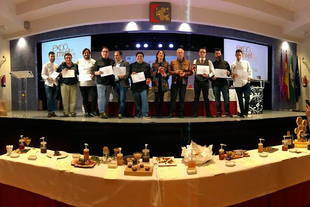 "I menú ExpoMiel 2016 ""Mieles de Córdoba"""