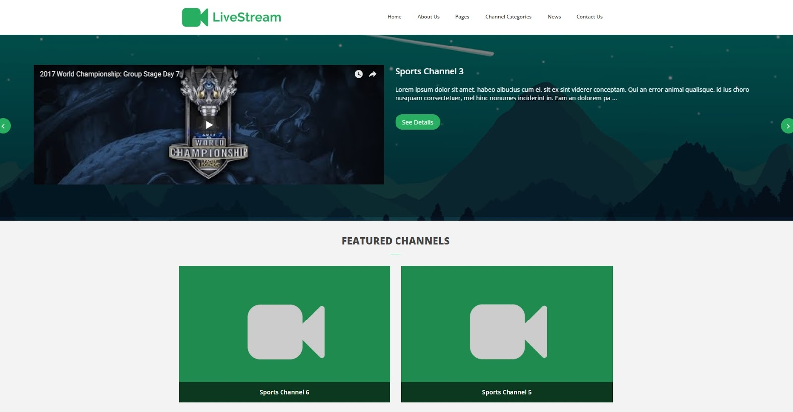 Share Source Mã Nguồn Trang Web LiveStream Trực tuyến