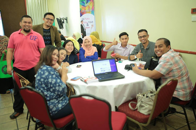 Sarapan Pagi Bersama Adi Putra, Mira Filzah Dan Blogger Malaysia,