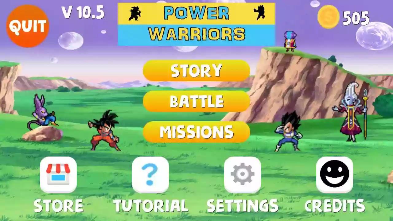 Power Warriors mod Apk Download