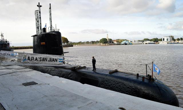 Jornadas de Puertas Abiertas De la Armada Argentina: Vistas al ARA San Juan