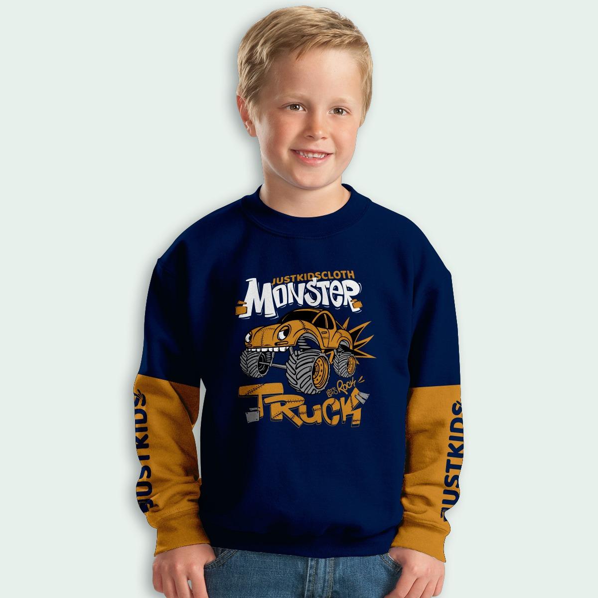 SWEETER PJG JUST KIDS (MONSTER TRUCK) (ANKL00019)