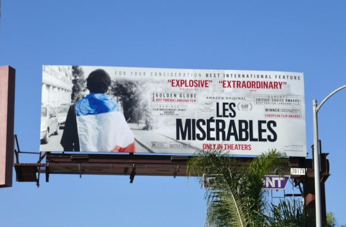 Les Misérables consideration billboard