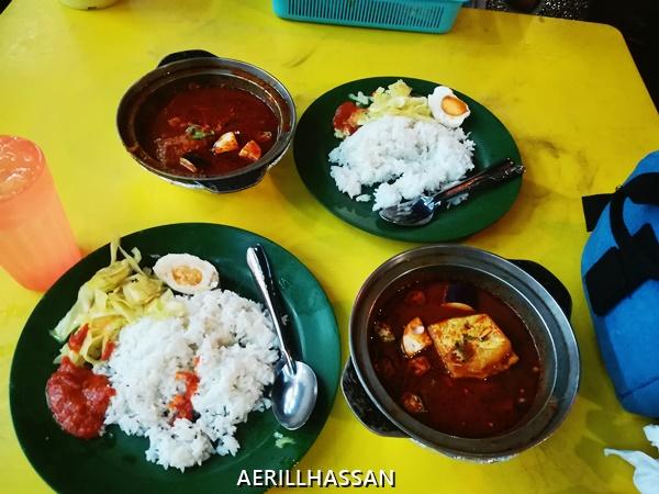 Asam Pedas Claypot, Restoran Kota Laksamana, Melaka