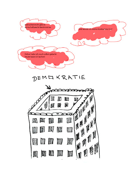 Dr. Kristian Stuhl 2012, Demokratie, Das Klo spült alles fort, A4