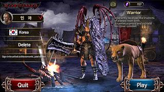 Download Game Blood Warrior Red Edition V1.0.6 MOD Apk + Data ( Unlimited Gems/Gold )