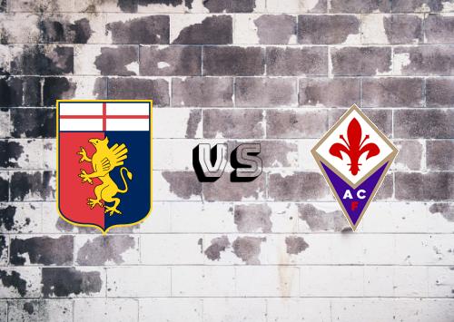 Genoa vs Fiorentina  Resumen