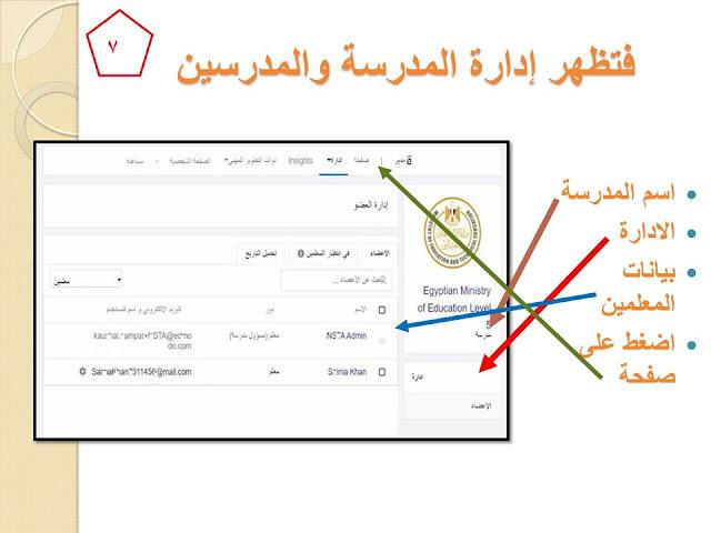 بالخطوات خطوات التسجيل على المنصة للمعلم والطالب وطريقة اعداد الطالب للمشروعات البحثية 7