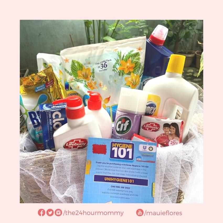 It's Unilever's Hygiene 101 Sale on Shopee!