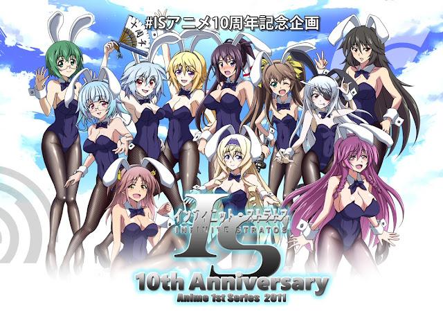 Fans celebran el décimo aniversario del anime Infinite Stratos