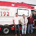 Santa Rita recebe nova ambulância do SAMU