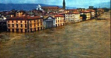 Per il 50° del '66 2: le alluvioni del passato a Firenze