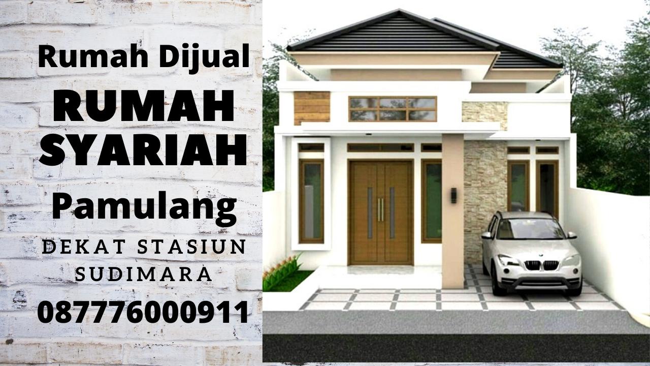 Dijual Rumah Syariah Garden 1 Mewah Terbaik di Pamulang Tangerang Selatan