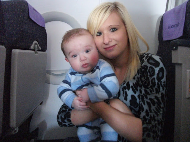 Flying with a baby - Babies first Holiday
