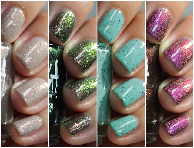 Girly Bits Indie Expo Canada 2019 swatch by Streets Ahead Style
