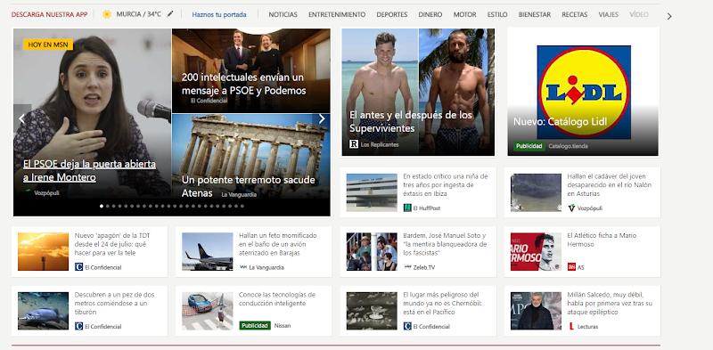 Cómo Quitar La Publicidad en MSN.COM Quitar Anuncios en MSN.ES