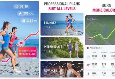 aplikasi jogging Lari Untuk Mengurangi Berat –Pelacak Lari