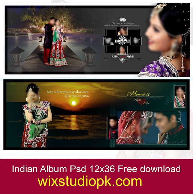 Latest indian Album Psd 12x36 Free Download