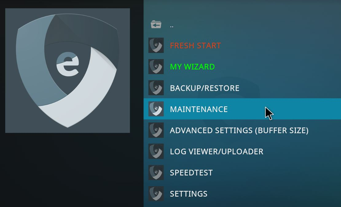 Optimiza Kodi con EZ MAINTENANCE