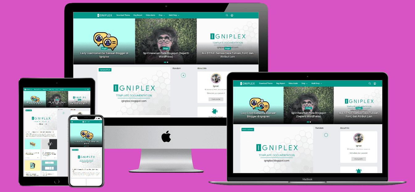 igniplex blogger template, template blogger seo friendly, download template blogger premium gratis