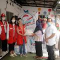 Pertiwi Indonesia Bagikan 500 Paket Sembako Kewarga Asrama Brimob Polri Petamburan