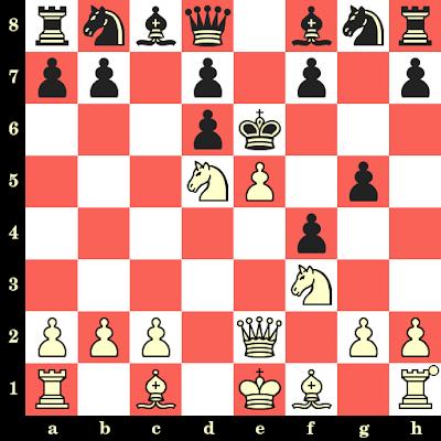 Les Blancs jouent et matent en 4 coups - Friedrich Saemisch vs Michael Schlosser, Trautenau, 1924