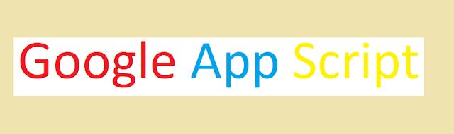 Google Apps Script Developers