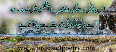 Is Barish Se Keh Do Mere Angan Main Na Berse