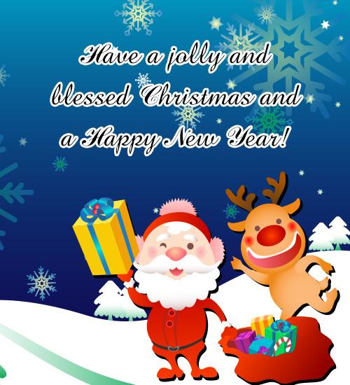 Merry Christmas And Happy New Year Greetings 2019 Wishes Greeting Cards