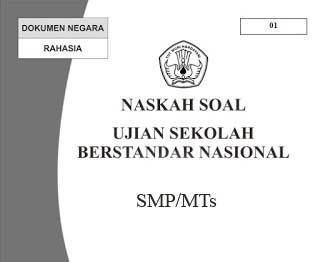 SMP mengalami perubahan dari tahun sebelumnya Soal USBN SMP 2017/2018 Lengkap Dengan Kunci Jawaban (Prediksi dan Latihan Soal USBN 2018)