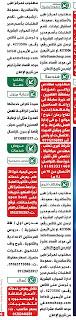 وظائف شاغرة جريدة الوسيط بتاريخ اليوم 2020/08/31